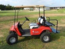 Ole Miss Used Golf Cart - Mississippi