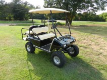 Lifted Club Car Golf Cart - Sold.  Brandon, MS