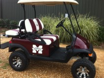 Custom Mississippi State branded Used Golf Cart - Jackson
