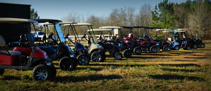 Mississippi's #1 Lifted Golf Cart Dealer