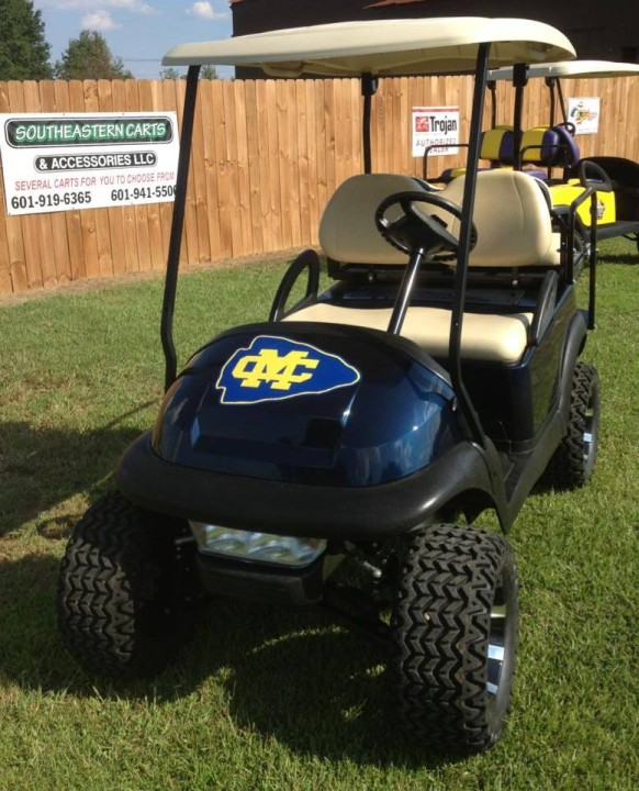 Mississippi College lifted Golf Carts to buy