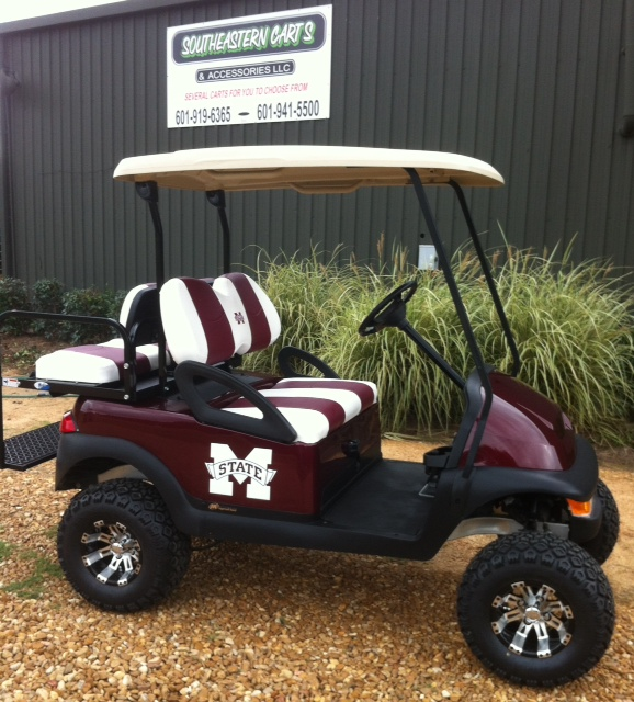 purchase Mississippi State Custom Golf Cart