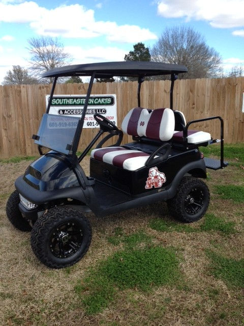 custom college themed golf carts southeastern carts accessories