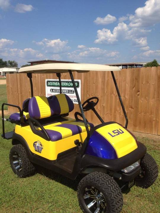 LSU golf cart for sale Ms