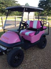 pink-lifted-golf-cart
