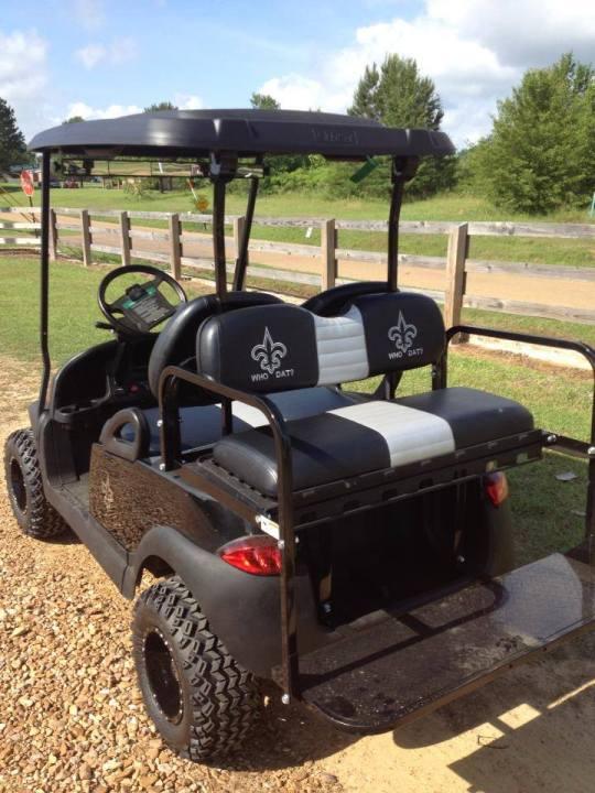 Saints Golf Cart for sale