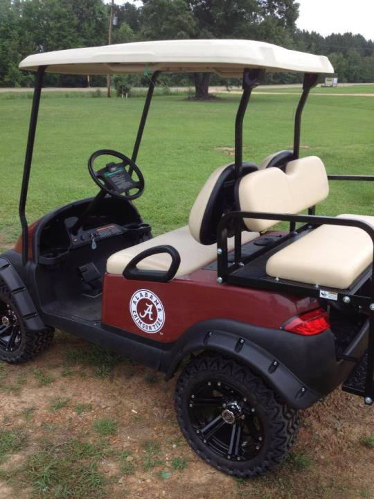 Alabama Lifted Golf Cart sale