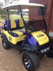 LSU-custom-golf-cart
