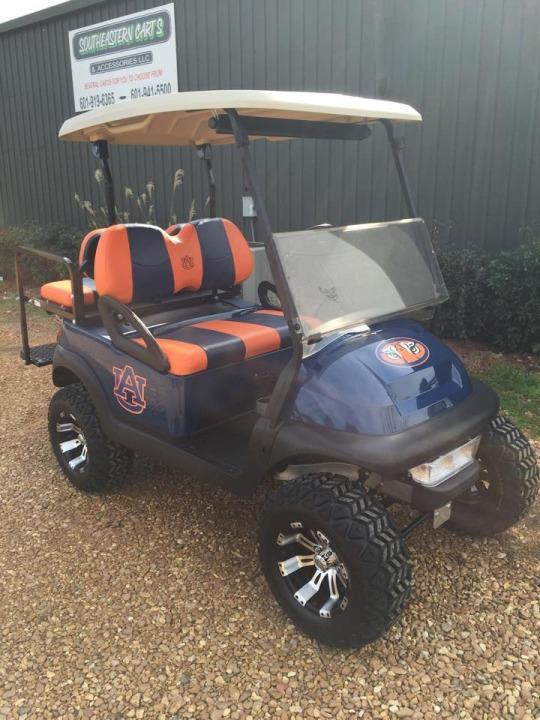 Auburn Tigers custom golf cart for sale MS