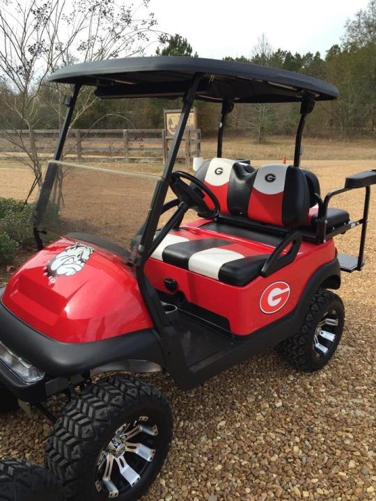 bulldogs custom golf cart for sale