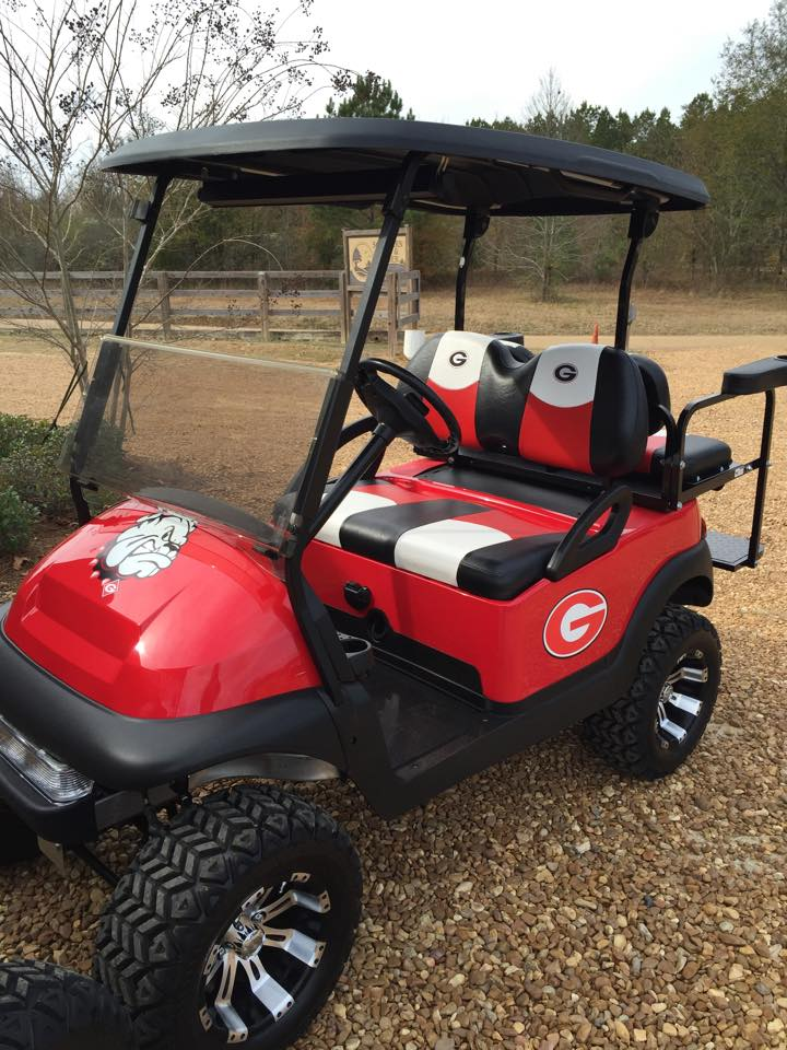 College Team Custom Golf Carts Southeastern Carts