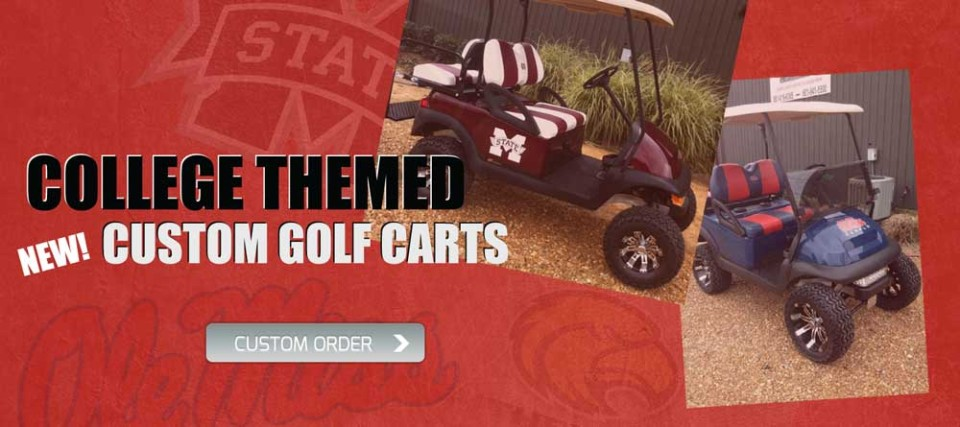 tailgate college custom carts for sale