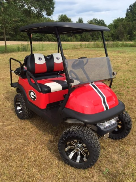 Georgia bulldogs custom golf cart for sale