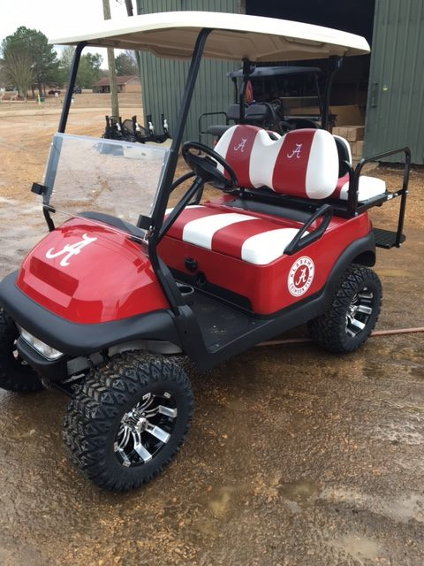 - Southeastern College Golf Carts Team Carts Custom