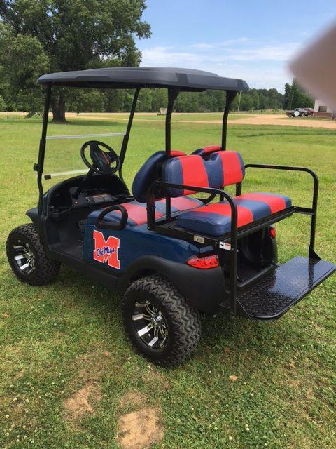 Custom Rebels Golf Cart for sale ms