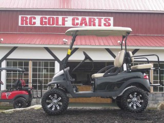 Black and Tan Club Cart
