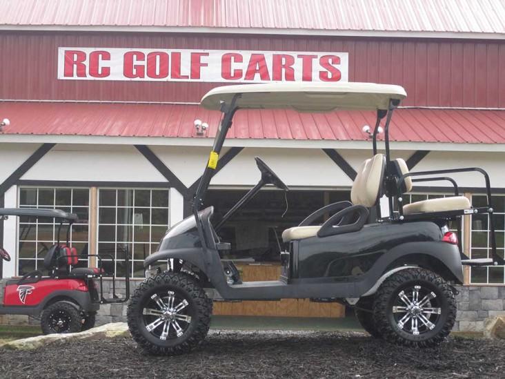 Custom Black and Tan Club Cart