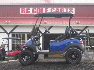 Blue with Black Club Cart