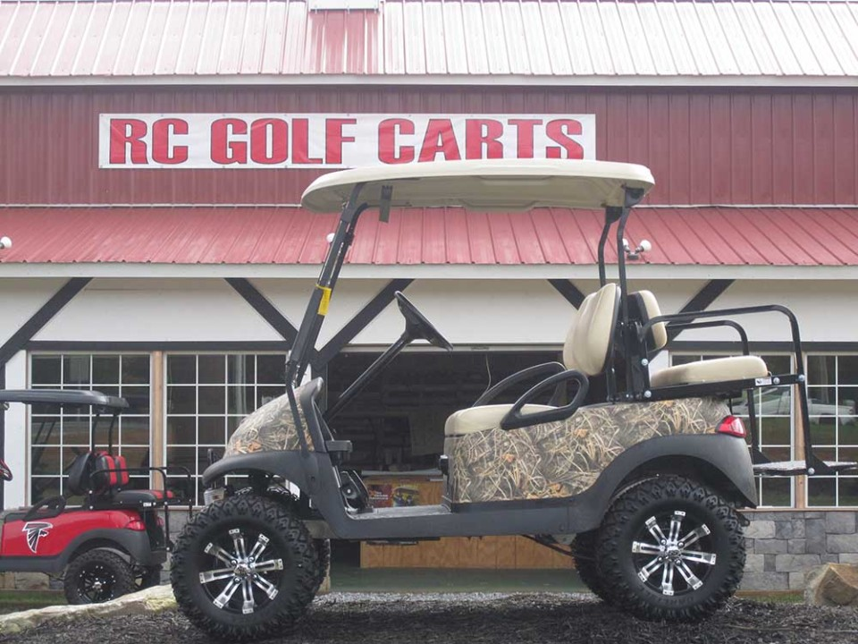 Custom Camo Club Cart