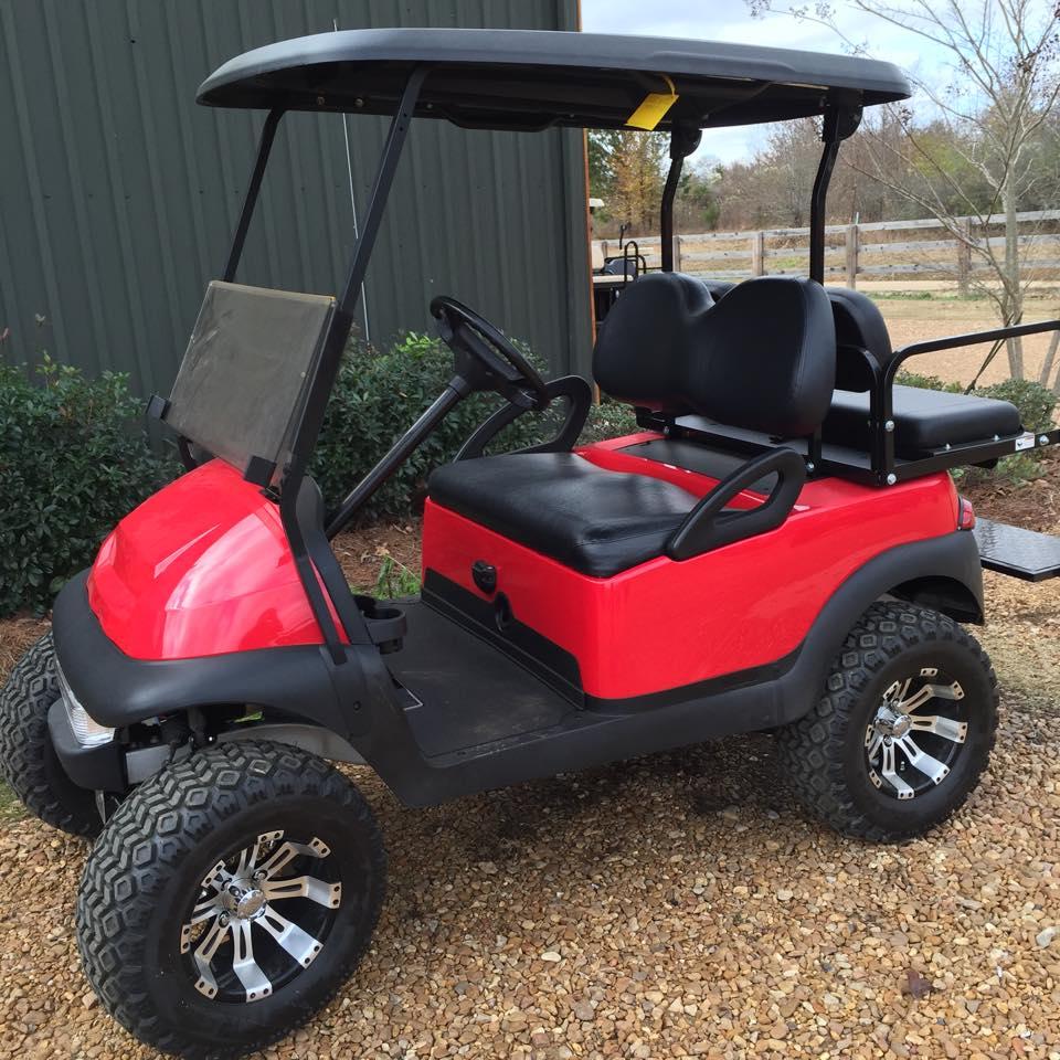 Club Car Custom Paint Custom Wheels Southeastern Carts Accessories Custom Pre Owned Golf