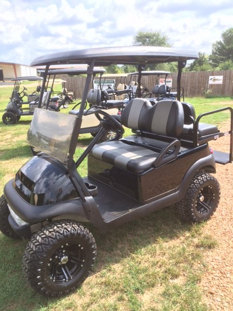 Black & silver custom cart
