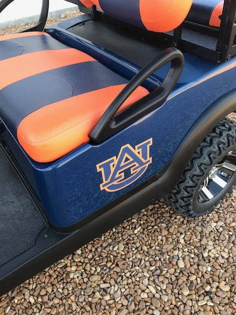 custom decals for golf carts sale ms