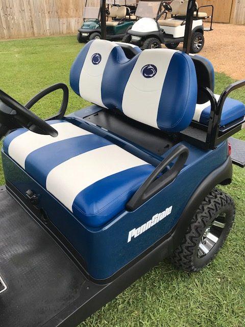 Custom penn state golf cart