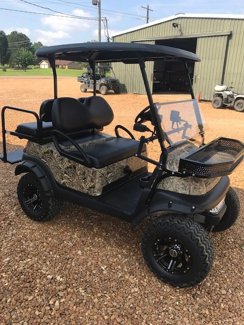 Pink Club Car Precedent 48 Volt System Golf Cart For Sale