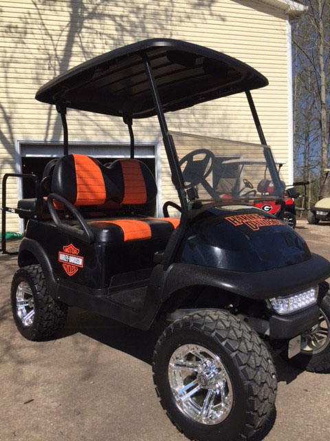Golf Cart nd Comparison - Southeastern Carts ... Harley Davidson Golf Cart Canopy on club car golf cart canopy, harley davidson golf covers, harley davidson golf club,